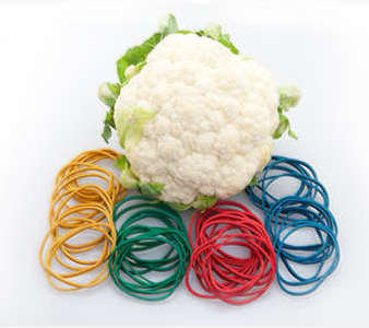 UV Cauliflower Rubber Bands